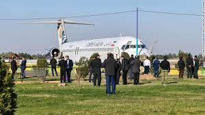 Resultado de imagen para Avión iraní se sale de la pista con 135 personas a bordo (VIDEO)
