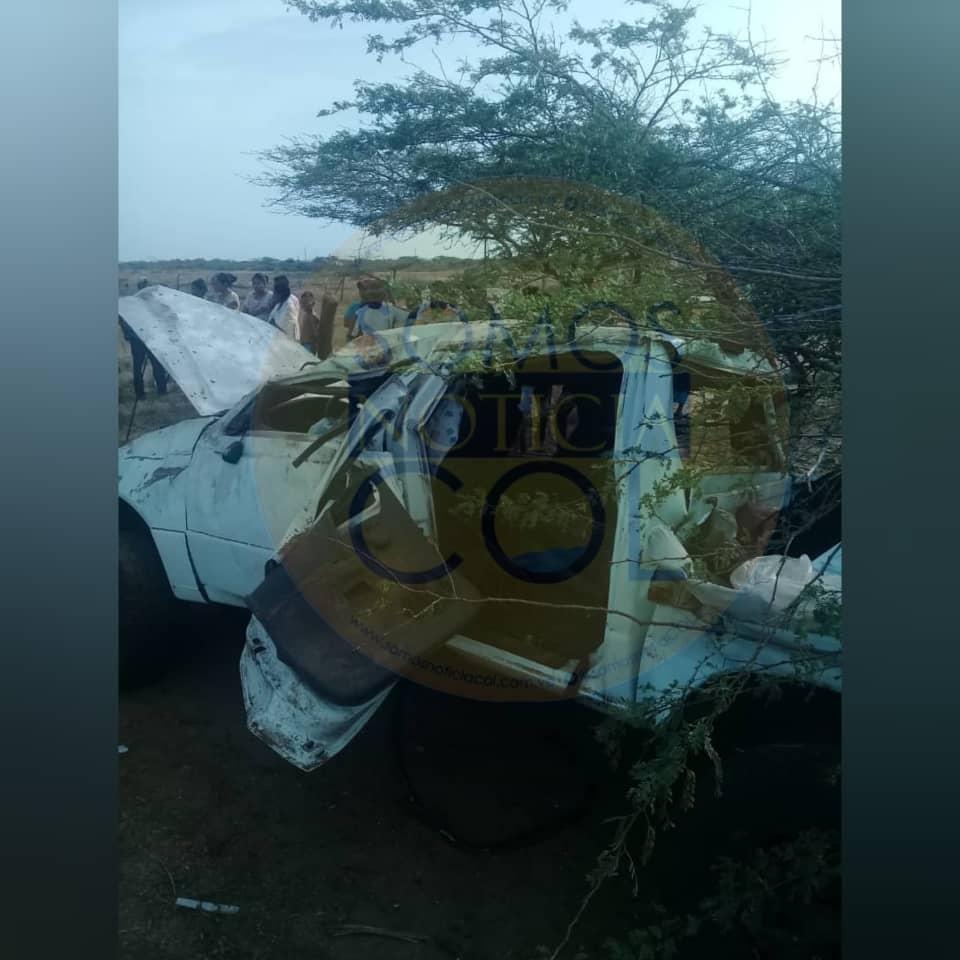CIUDAD OJEDA   Accidente de tránsito vía Raya municipio Guajira dejó un  saldo de dos muertos y un herido oriundos del Municipio Lagunillas + FOTOS  – Somos Noticia Col